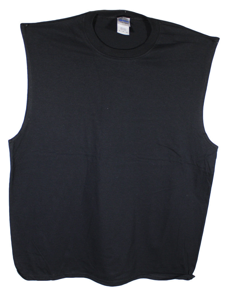 NEW Gildan Sleeveless Muscle Tees 2700 Sizes XL & 2XL - 4 Colors