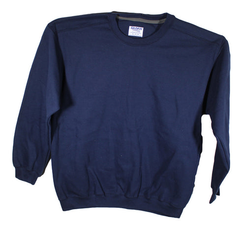 NEW Gildan Fleece Crew Sweatshirt 92000 Sizes XL, 2XL & 3XL - 7 Colors