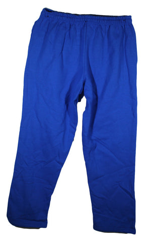 NEW Gildan Open Bottom Pocketed Sweatpants 12300 Sizes XL & 2XL - 4 Colors