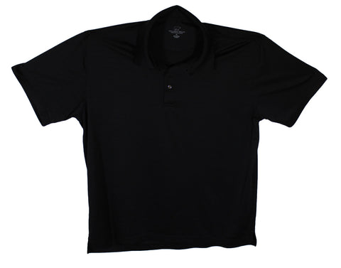 Golden Bear Black Performance Polo Size 2XL