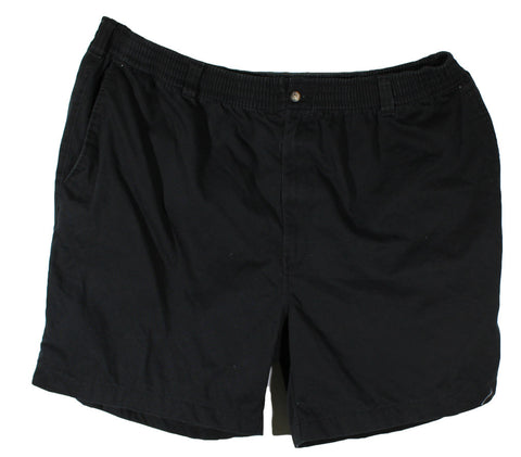 Harbor Bay Casual Shorts Black Size 3XL