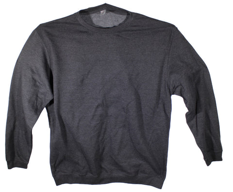 NEW Independent Trading Co Dark Grey Sweater Size 3XL