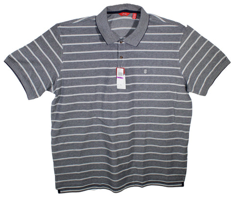 NEW Izod Striped Polo Shirt Size 2XL - 2 Colors