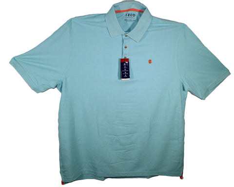 NEW Izod Solid Color Polo Shirts Sizes 2XLT, 3XLT, 4XL & 4XLT - 3 Colors