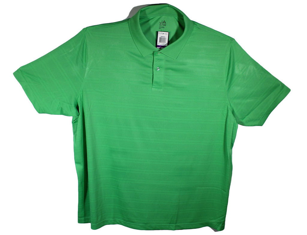 NEW John Ashford Performance Polo - Size 2XL, 2XLT, 3XL, 3XLT, 4XL & 4XLT - 4 Colors
