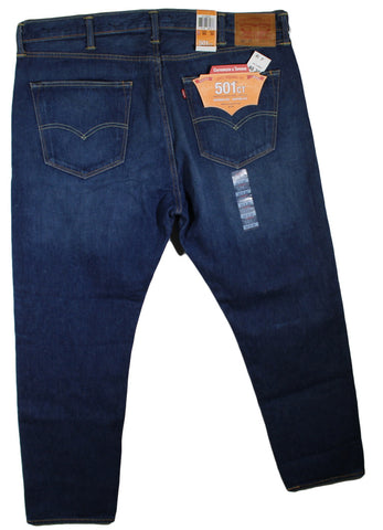 NEW Levi's 501 CT Button Fly & Tapered Leg Jeans Sizes 38W32L, 38W34L, 40W32L & 42W30L - 3 Colors