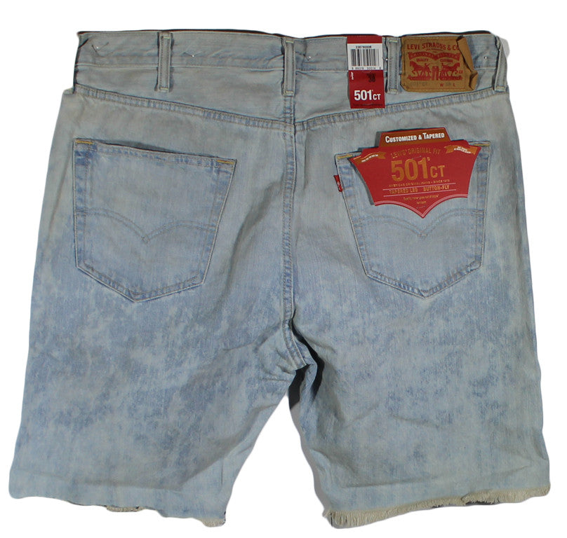 NEW Levi's 501 CT Button Fly Jean Shorts Size 38