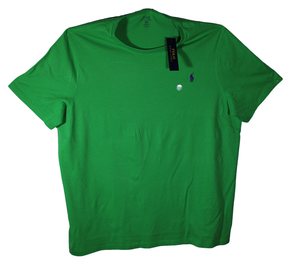 NEW Polo by Ralph Lauren Crew Neck T-Shirts Sizes XL & 2XL - 7 Colors