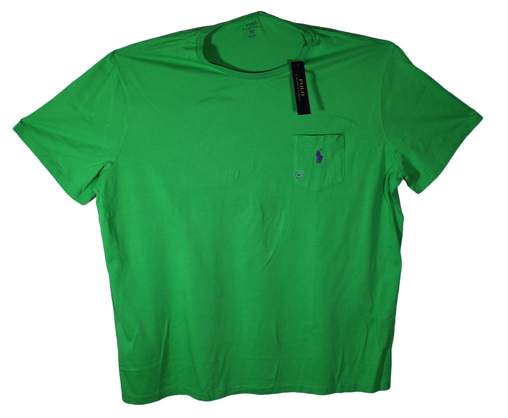 NEW Polo by Ralph Lauren Pocket T-Shirts Sizes XL & 2XL - 5 Colors