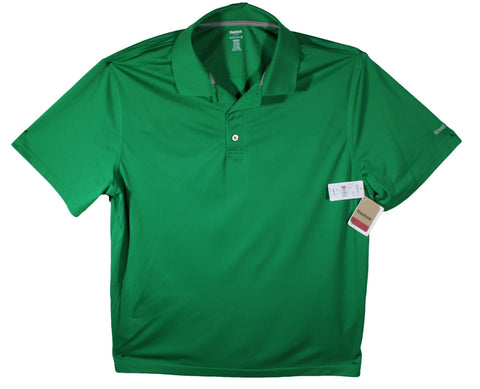 NEW Reebok Golf Green Performance Polo Size 1XL