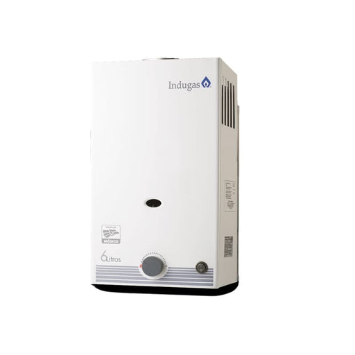 Boiler Indugas 6lts Instantáneo a Gas LP