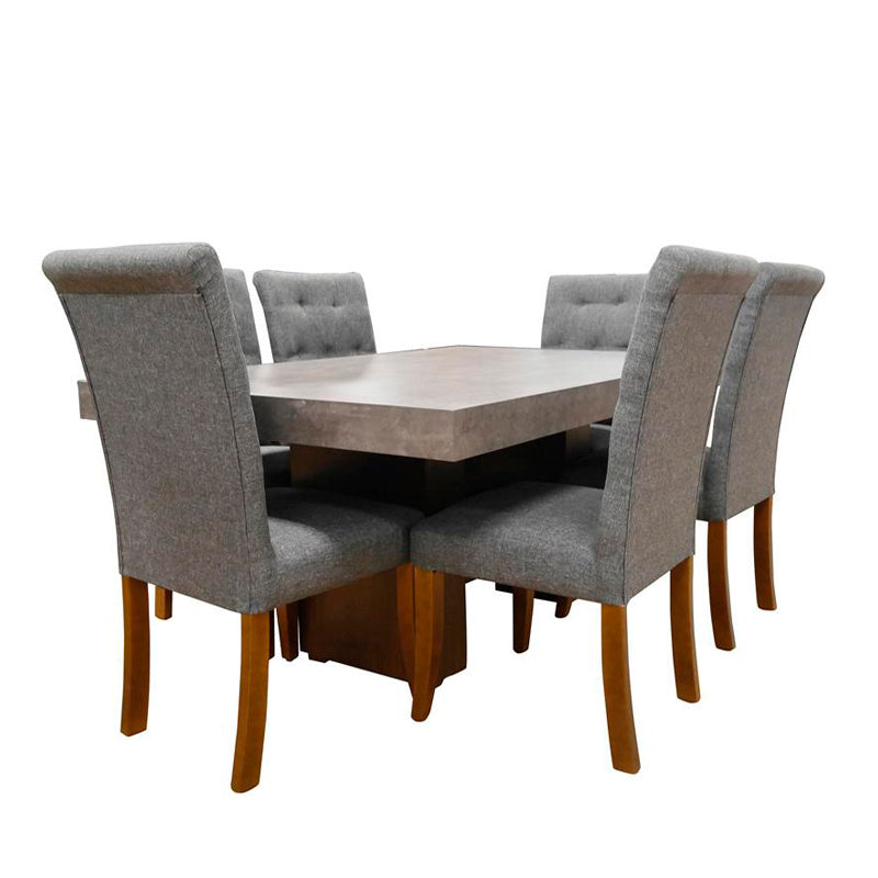 Comedor Pharrel 6 Sillas