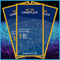 Cineplex Odeon - Admit One Ticket