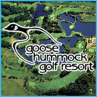 GOLF - Goose Hummock Golf Resort, 18 Holes, Cart & Range