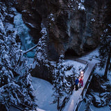 Banff Tours - Johnston Canyon Evening Icewalk - GoAsAGroup Perks