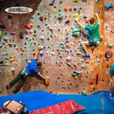 Vertically Inclined Rock Gym - 4 Person 2 Hour Climbing Lesson