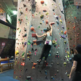 Vertically Inclined Rock Gym - 2 Person Climbing Day Pass