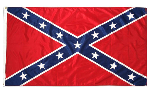 Confederate Flag Durable Nylon Printed - 3' x 5'