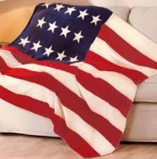 American Flag Blanket/Throw