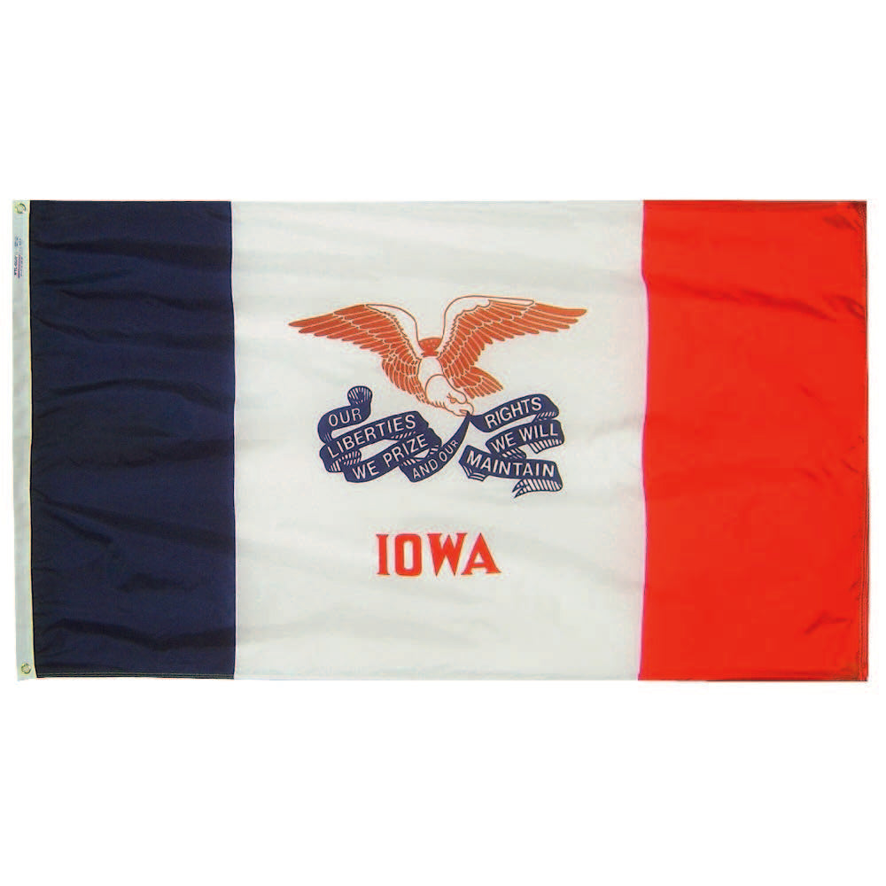 Iowa State Flag - Nylon