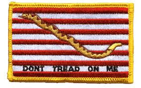 "1st Navy Jack Patch - 2.5"" x 3.5"""