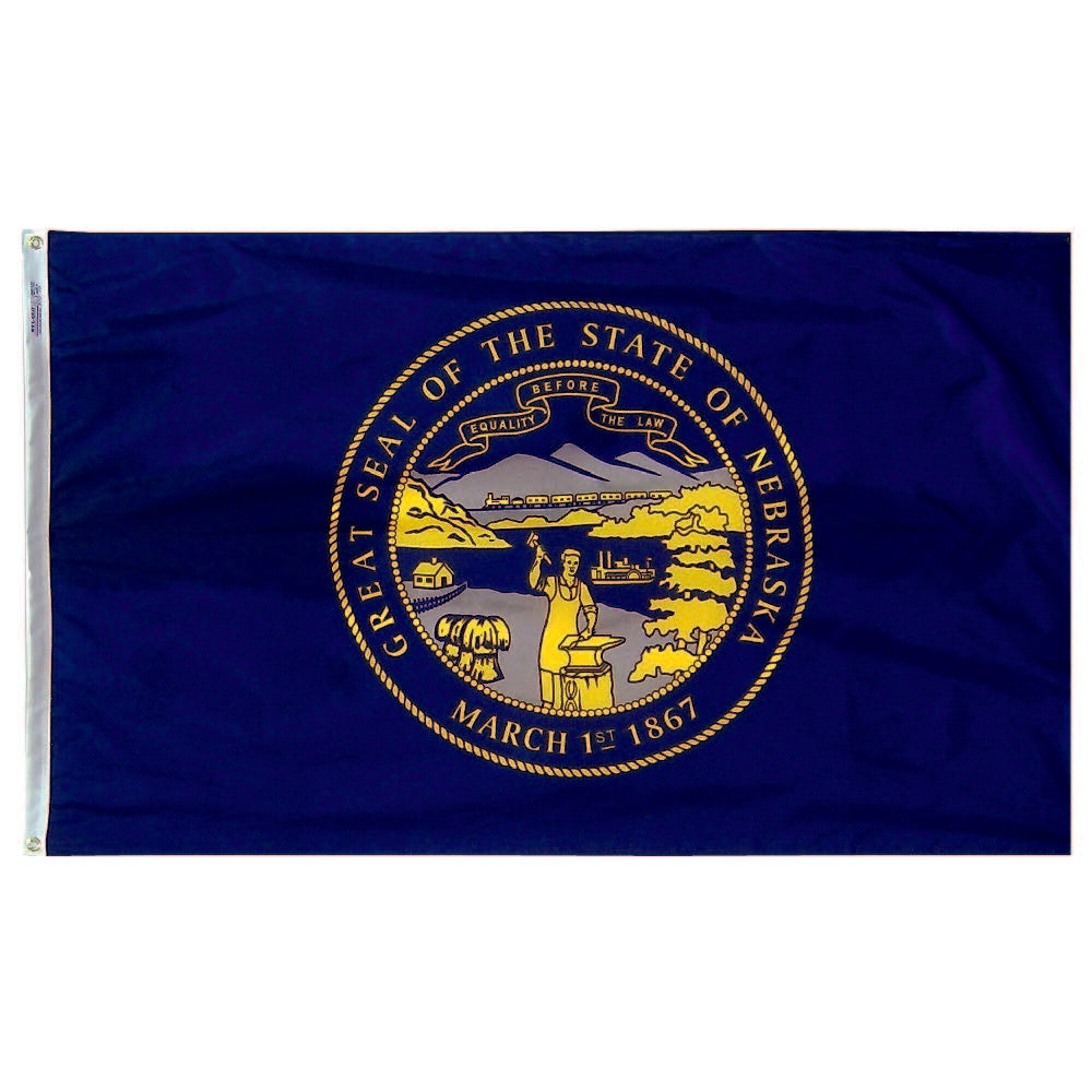 Nebraska State Flag - Nylon