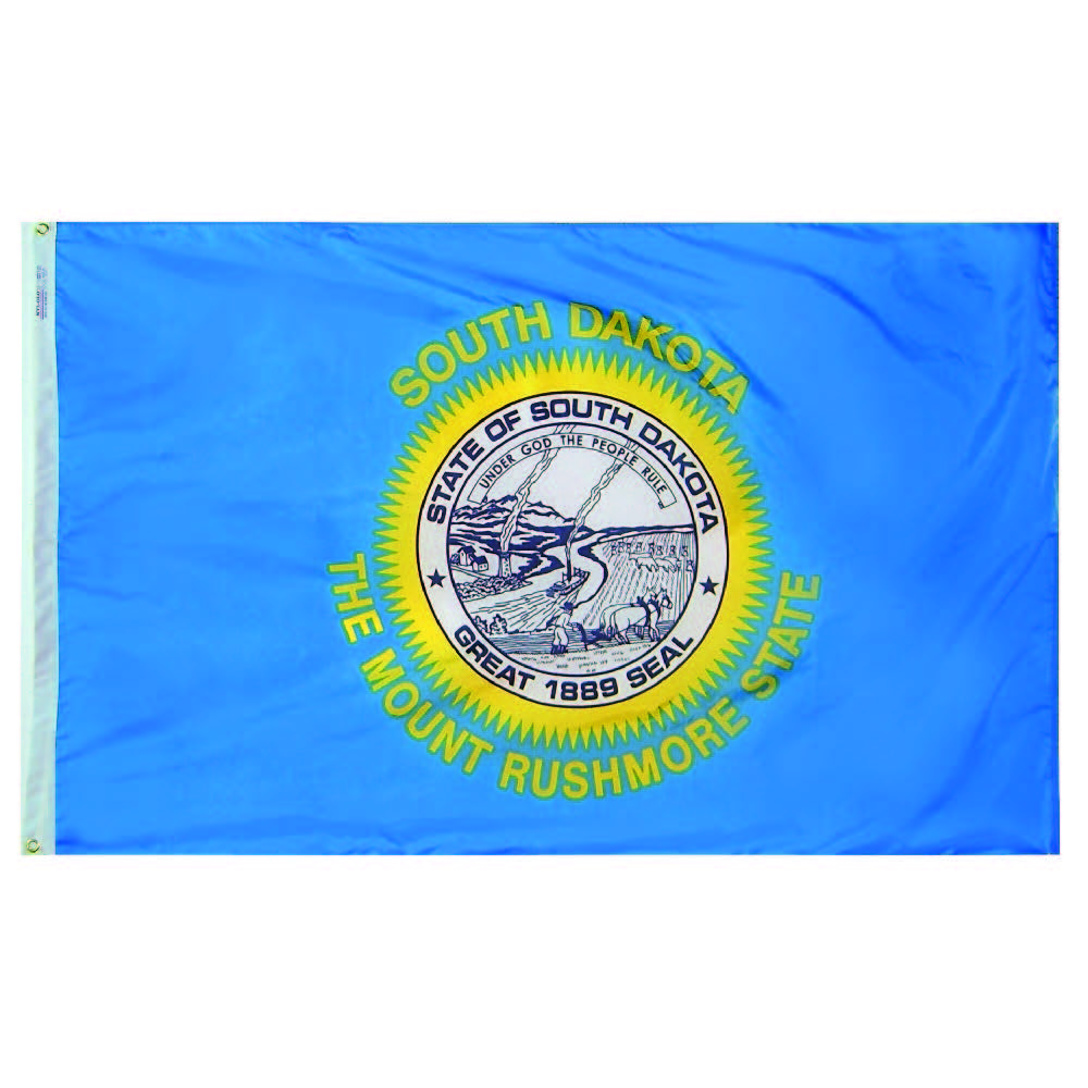 South Dakota State Flag - Nylon