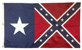 Texas/Confederate Flag