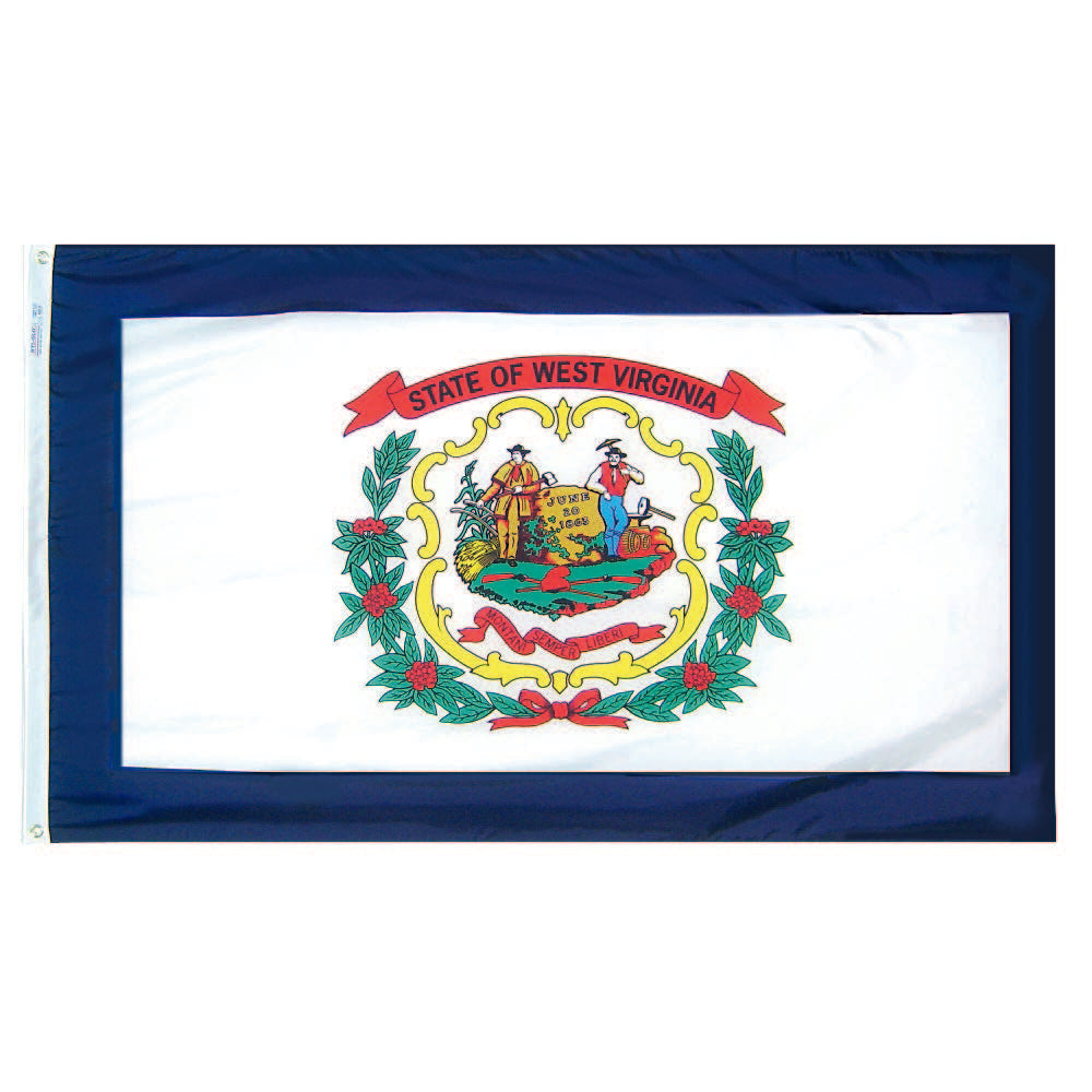 West Virginia State Flag - Nylon