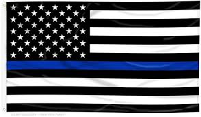 United States Thin Blue Line Flag