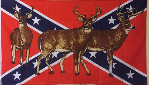 Confederate Deer Flag