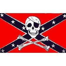 Confederate Flag Jolly Roger