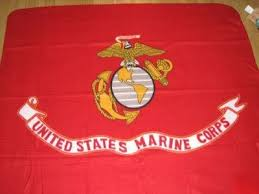United States Marine Corps Fleece Throw/Blanket