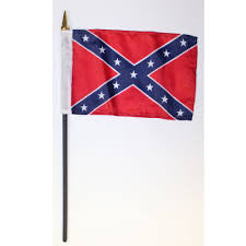 Miniature Confederate Flags (Three)