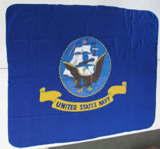 United States Navy Fleece Throw/Blanket