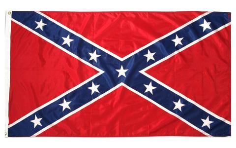 Confederate Flag Durable Nylon 5' x 8' Free Shipping