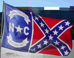 North Carolina Confederate Flag