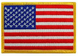 "United States Patch - 7"" x 11"""