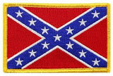 "Confederate Embroidered Flag Patch - 2.5"" x 3.5"""