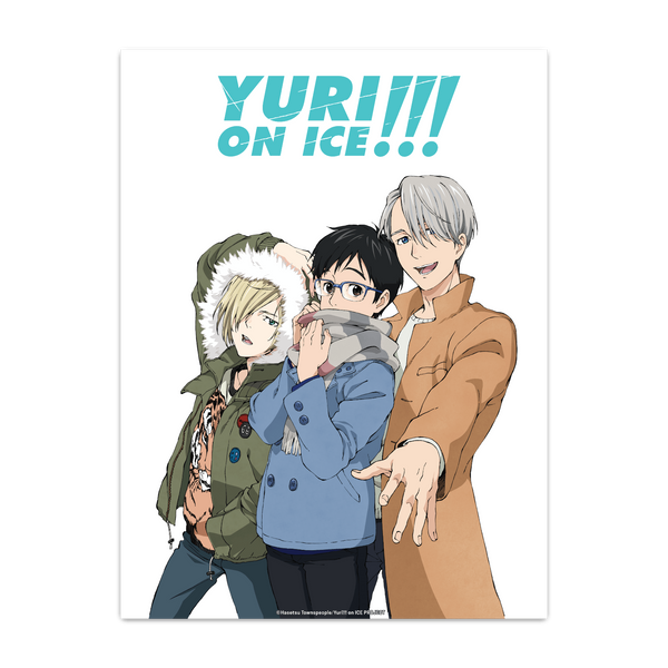 Yuri!!! On ICE Poster - Casual Dress
