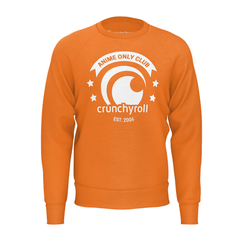 ANIME ONLY CLUB, SWEATSHIRT - ORANGE