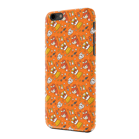 HIME-CHAN, IPHONE 6 CASE, ORANGE
