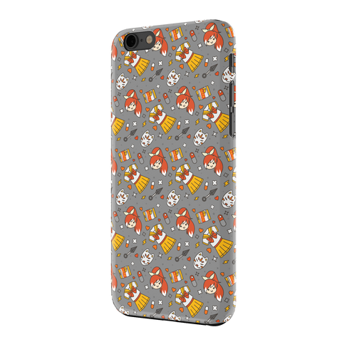 HIME-CHAN, IPHONE 6 CASE, GREY