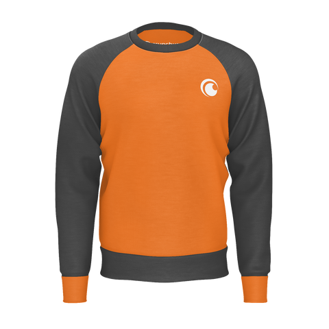 BASIC, SWEATSHIRT - ORANGE