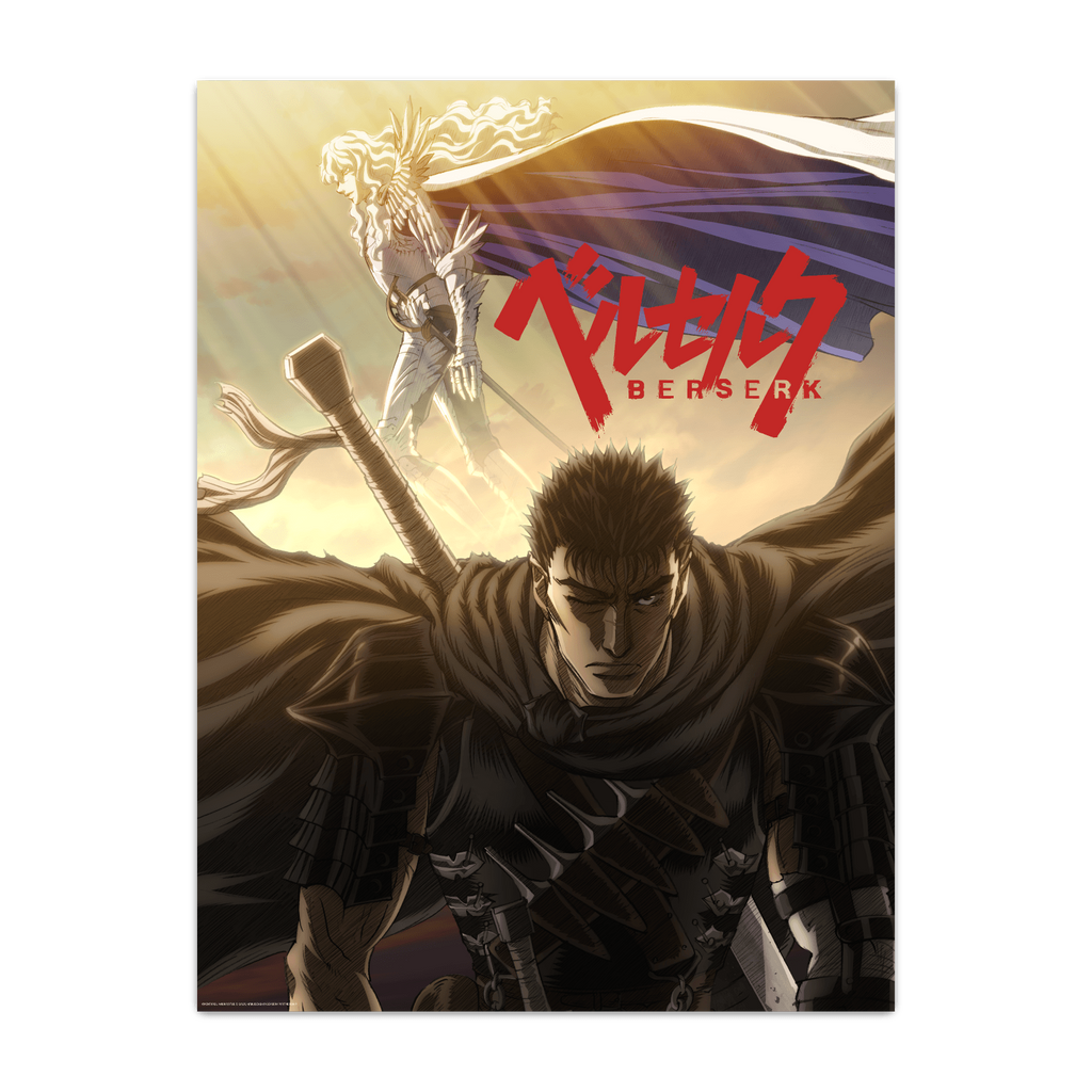 Berserk Guts and Griffith Poster