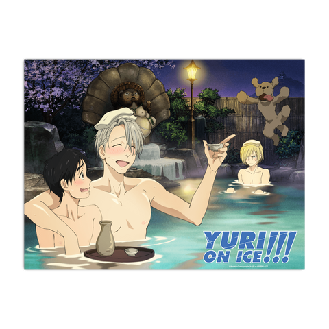 Yuri!!! On ICE - Hot Spring Poster