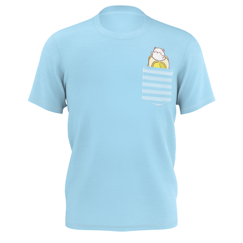 Bananya - Peekin' Out Men's Pocket Tee