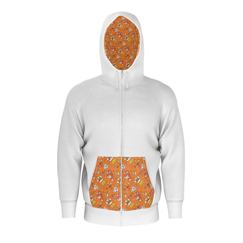 HIME-CHAN, HOODIE – WHITE