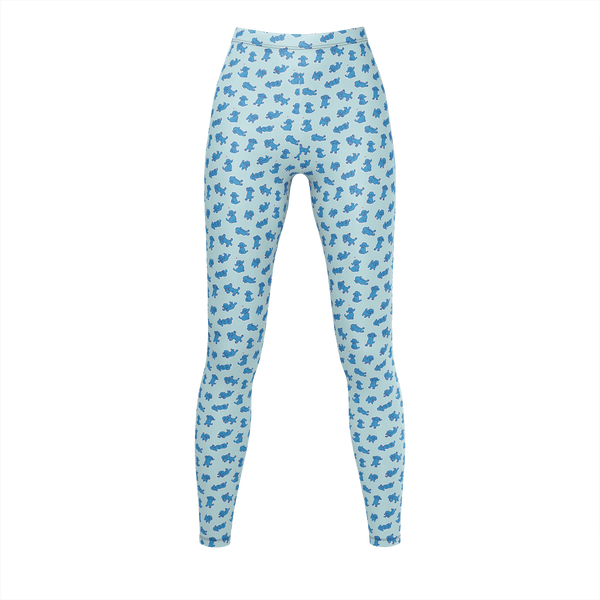 Yuri!!! On ICE - Blue Makkachin Leggings
