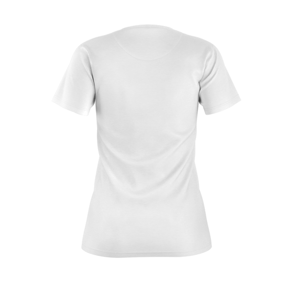 CRUNCHYROLL BASIC WOMEN'S TEE - WHITE, TYPE